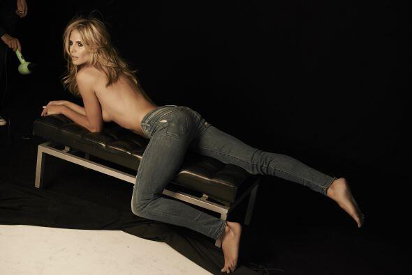 Así que tenemos Heidi Klum para unos años más.