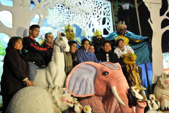 En la Ciudad de México, la tradición ha tomado forma y vida en el parque...