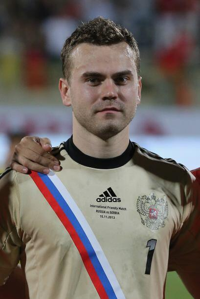 Igor Akinfeev.- El portero titular de los rusos tiene ya 65 juegos con l...