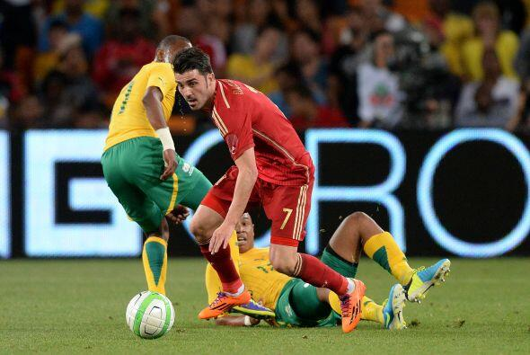 David Villa.- Los 56 goles que acumula en 96 partidos internacionales es...