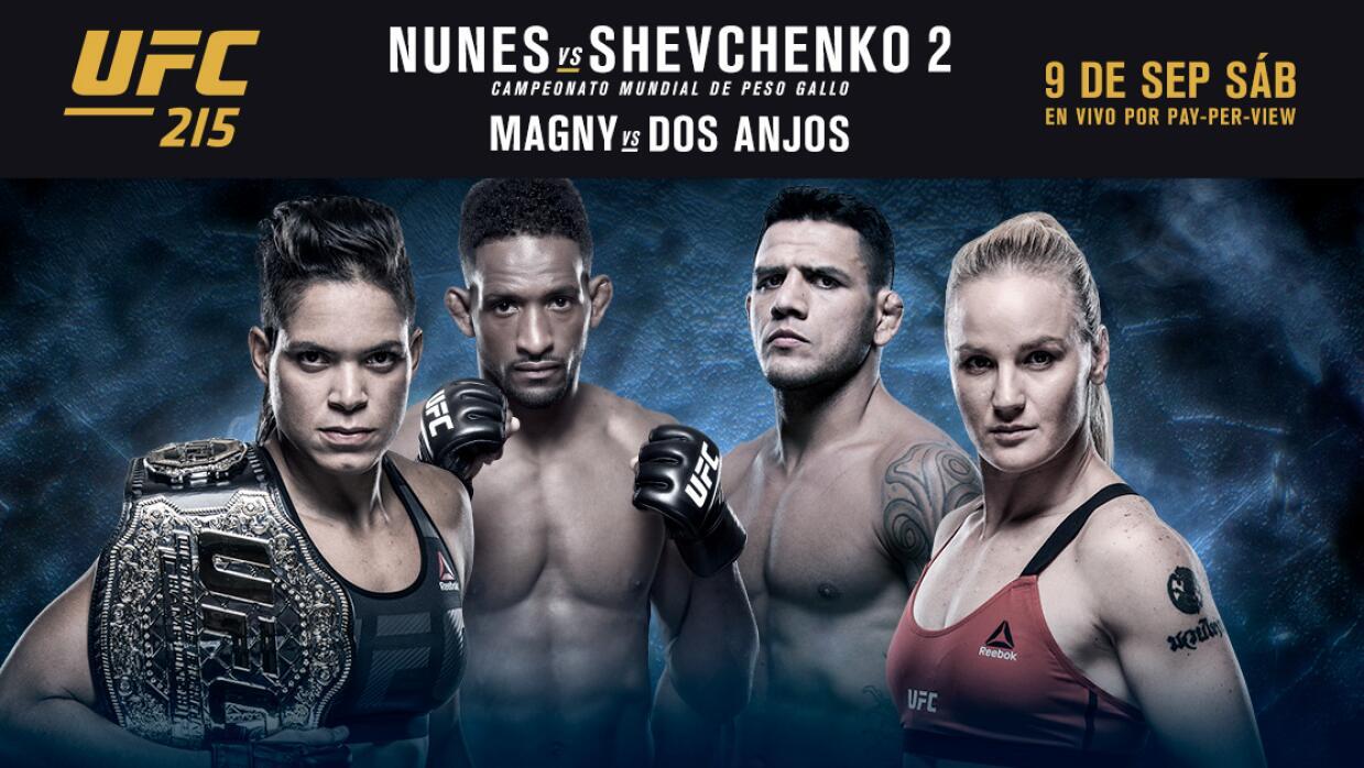 El encuentro entre Nunes y Shevchenko se da luego de que su pelea, agend...