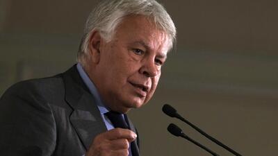 Felipe González en defensa de Leopoldo López
