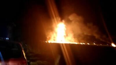 Imágenes de la situación luego de la explosión en Tlahuelilpan, México