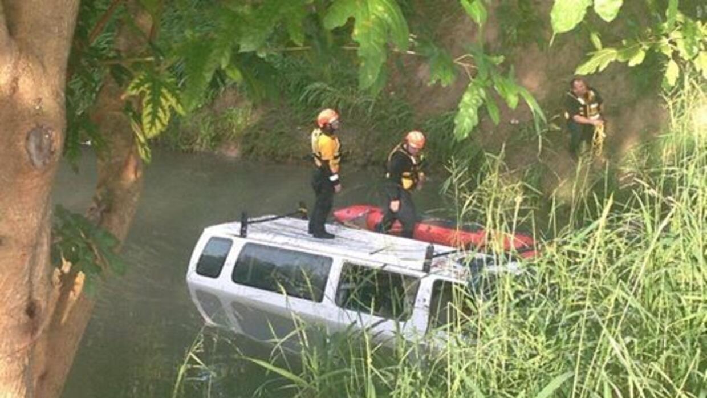 Los siete rescatados son trabajadores de construcción y fueron rescatado...