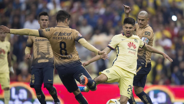Pumas recibe al América en el juego de vuelta de las semifinales de la L...