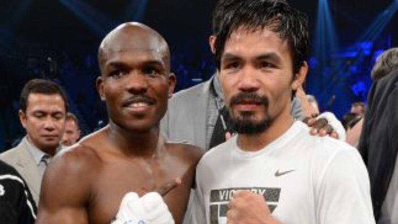 Bradley y Pacquiao ya saben quienes serán los jueces para su pelea.