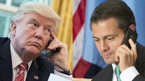 Trump and Pena Nieto phone call