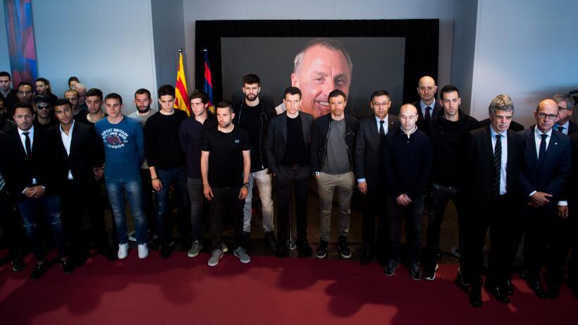 Homenaje a Cruyff Barcelona