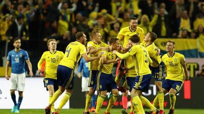 Suecia, el 'matagigantes' rival de México en el grupo F por el cupo a octavos de final