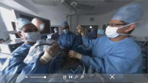 Primera cirugía de cáncer de colon en 360 grados
