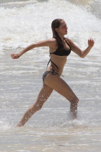 Ryan Phillippe en la playa