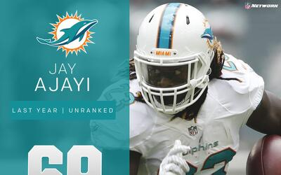 #69 Jay Ajayi (RB, Dolphins) | Top 100 Jugadores 2017