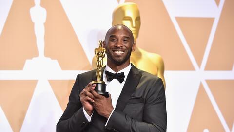 "Bryant ganó un Oscar por su corto animado ""Dear Baskteball&q..."