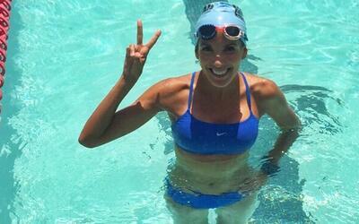 Maria Teresa Guerrero: ¡A nadar!