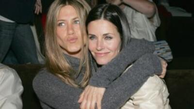 Jennifer Aniston y Courteney Cox de nuevo juntas