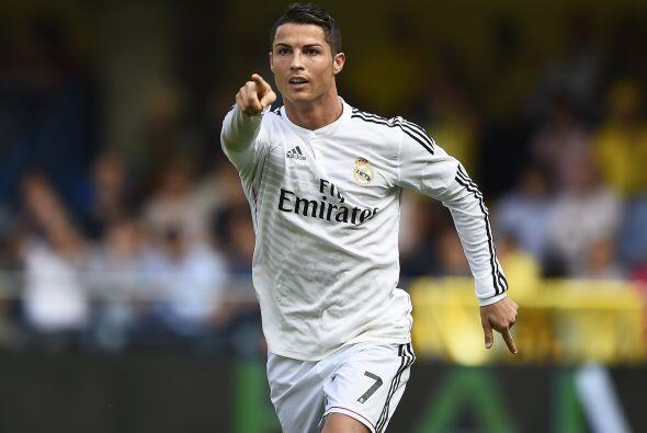 Cristiano Ronaldo marcño un gol en la victoria del Real Madrid so...