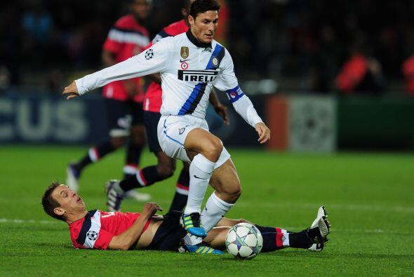 Por otra parte, en Francia, Inter visitó al Lille y volvió a sonreir.