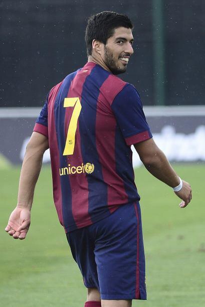 El próximo sábado Luis Suárez podría volver a una cancha de fútbol tras...