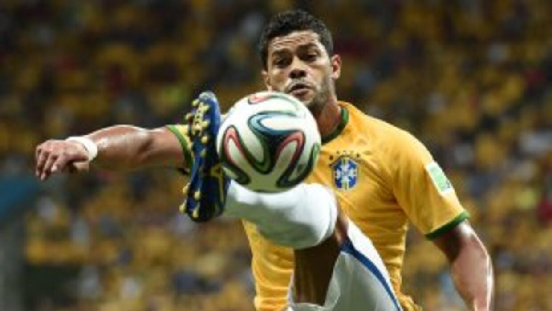 El delantero brasileño Hulk.