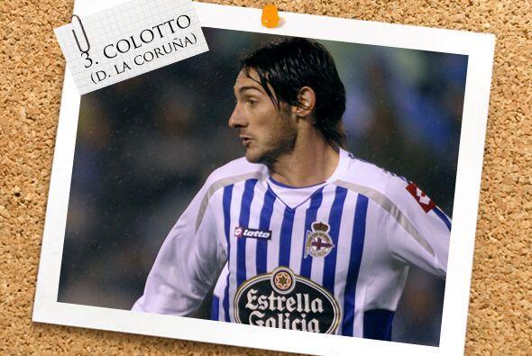 El argentino Diego Colotto también figura en la línea baja.