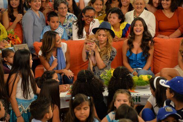 La colombiana aseguró que su familia es la fuerza más grande que tiene y...