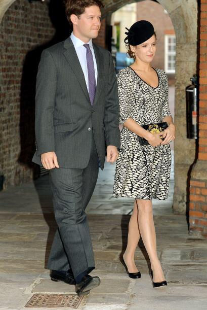 Emilia Jardine-Paterson y su esposo David.Mira aquí los videos m&...