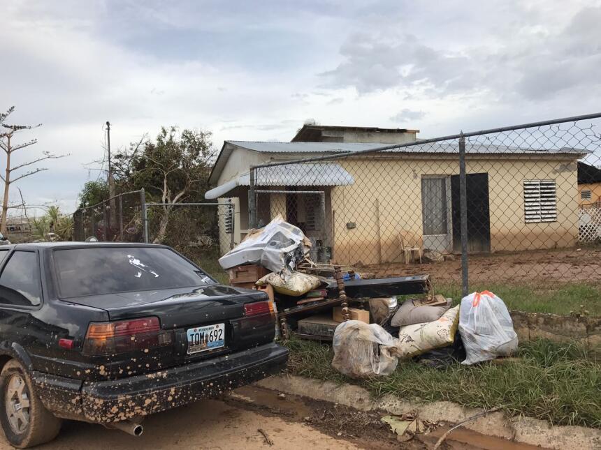 El pueblo de Mayagüez se recupera tras el paso del huracán María