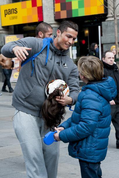 ¡Hola Cristiano Ronaldo!