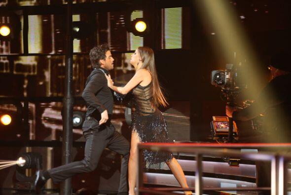 Mariana y el actor Mane de la Parra encendieron la pista de Nuestra Bell...