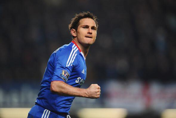 Ese tanto de Lampard marcó la diferencia y le levantó la moral al Chelse...