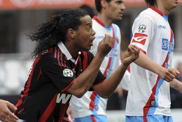 El club 'rossonero' perdía por 2-0 y no encontraba el modo de remontar e...