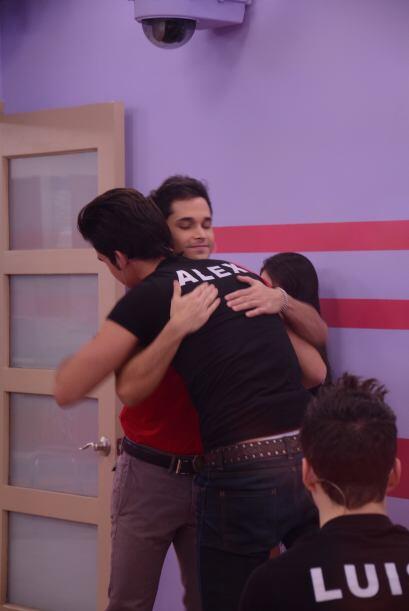 Shanik tuvo un momento para decirle a George que si Mateo se va no quier...