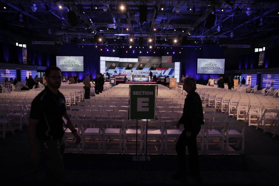 El resumen del debate demócrata en imágenes IMG_4714.jpg