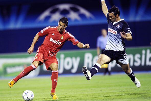 Manchester United visitó al Dinamo Zagreb en busca de un buen res...