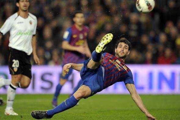 Incluso, jugadores como Cesc Fábregas se atrevían a hacer jugadas de fan...