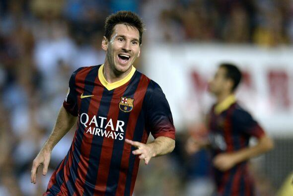 Messi ponía el 3-0 cuando se jugaba el minuto 41.