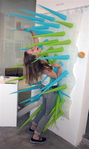 "Spiky se infla cuando pasan cuatro minutos de recibir agua constante. ""P..."