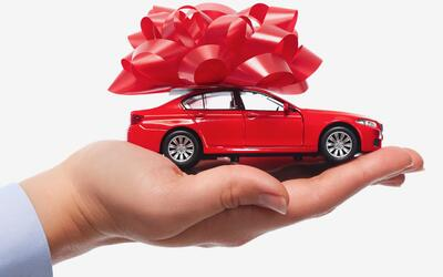 Feliz navidad y próspero auto nuevo.
