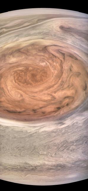 En Fotos: Impresionantes imágenes de la Gran Mancha Roja de Júpiter 2139...