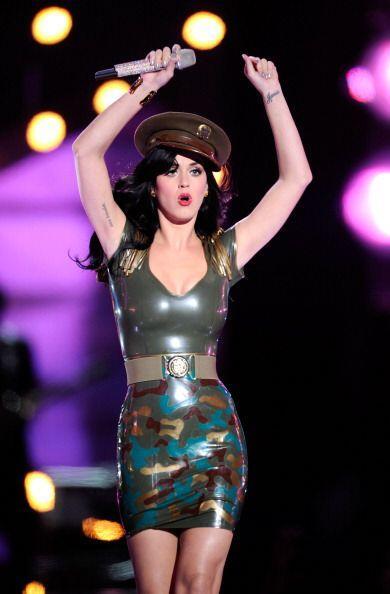La sensualidad es algo que caracteriza a  Katy Perry. ¿Será que por eso...
