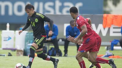 El 'Tri' Sub 22 empató en su debut en el Torneo Esperanzas de Toulon 201...