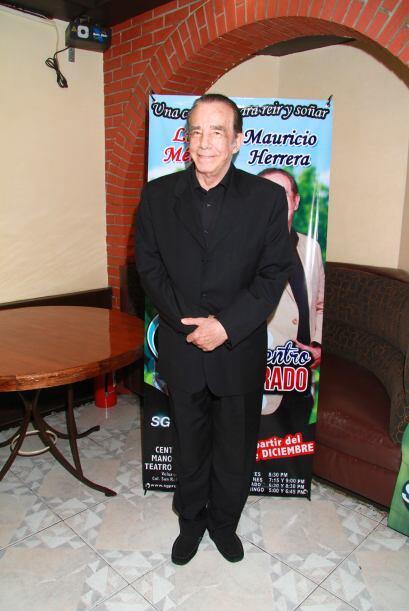 Esta vez compartirá el escenario con Mauricio Herrera.