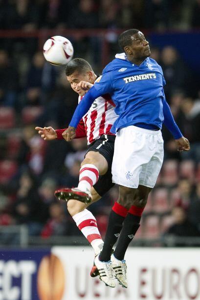 Por último, el PSV Eindhoven no pasó del empate sin goles ante el Rangers.