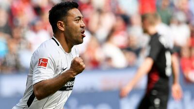 En fotos: a pesar del gol de Marco Fabián, Eintracht Frankfurt fue goleado por el Bayer