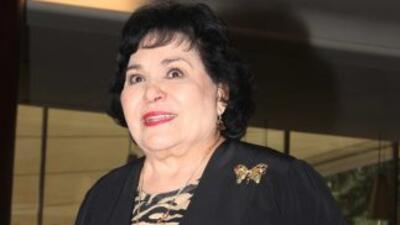 La actriz Carmen Salinas es candidata a diputada por la vía plurinominal...