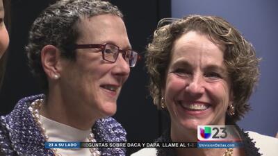 Primera pareja gay en casarse en Texas
