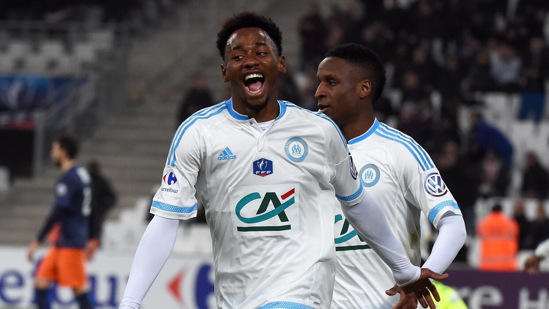 El Olympique de Marsella ganó con gol de  Georges-Kevin Nkoudou