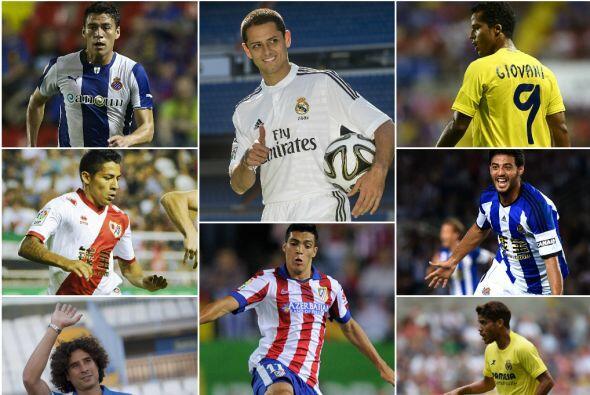 La cantidad de mexicanos en la liga se ha incrementado para esta campaña...