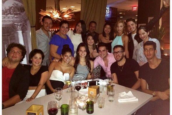 """""""Happy birthday @antui"""", compartió William Valdes. (Septiembre 9, 2014)"""