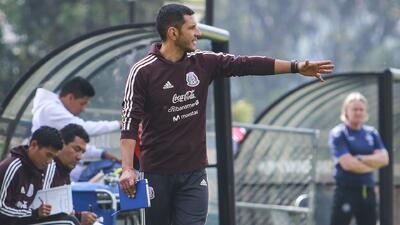 """Jaime Lozano, nuevo DT del Tri Sub-22, expresó el deseo de """"potenciar al máximo"""" a su equipo"""